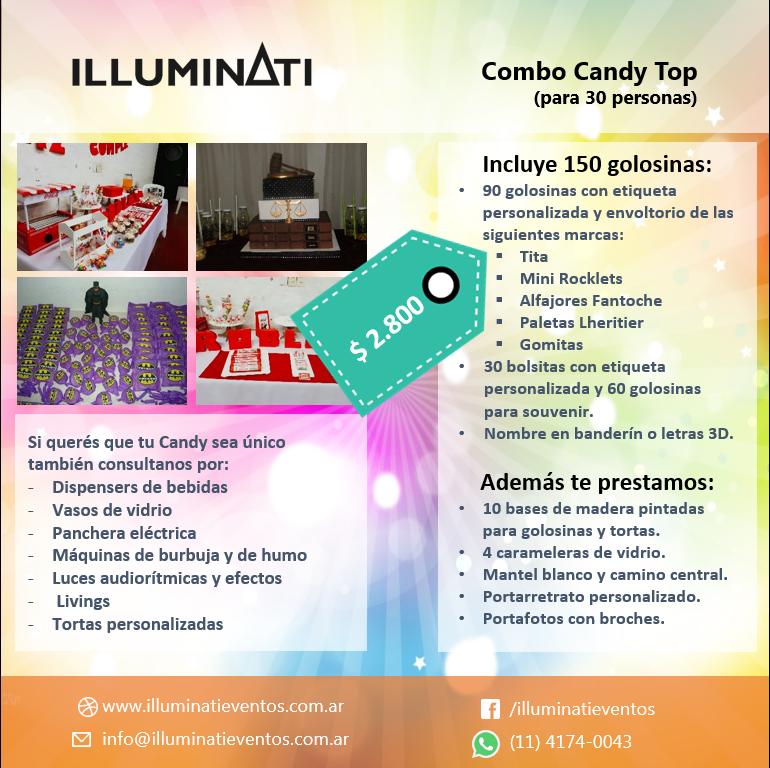 Candy bar top